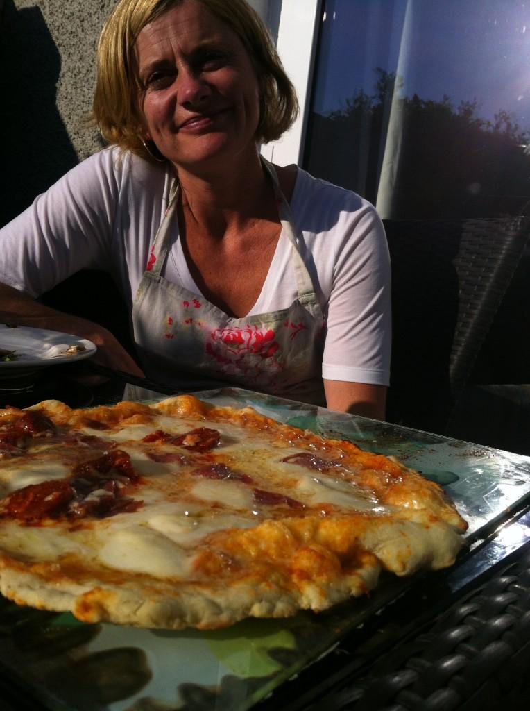 Veronica's BBQ Pizza